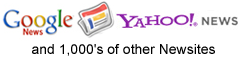 Google News, Yahoo! News and 1000s of other news sites